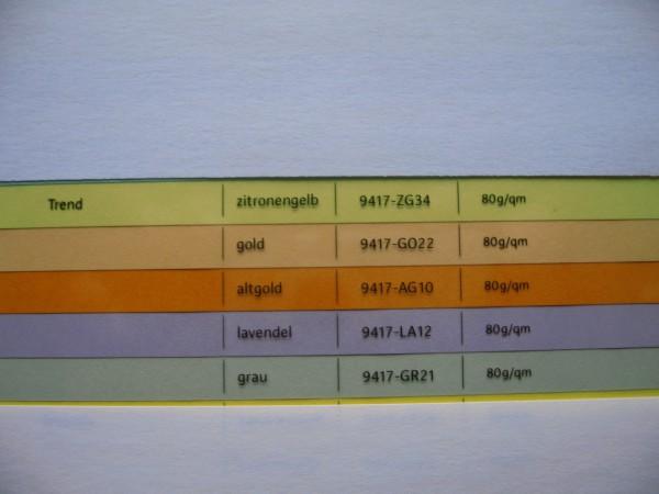 Farbiges Kopier-und Laserpapier, trendfarbig, 80g, 25.000 Bl.