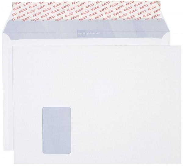 Versandtasche mit Fenster, C4, Haftklebung, 500 Stck