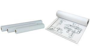 Kopierpapier für Großformat- Rollenkopierer, 42 cm 175 m VE 2 Rl