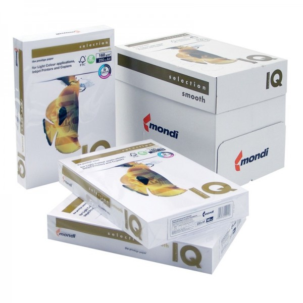 Mondi IQ Selection Smooth Farblaser 100g A 4, 26.000 Blatt-Copy