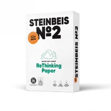 Steinbeis Trendwhite Recycling 80° Weiße, A4, 80g 100.000 Blatt