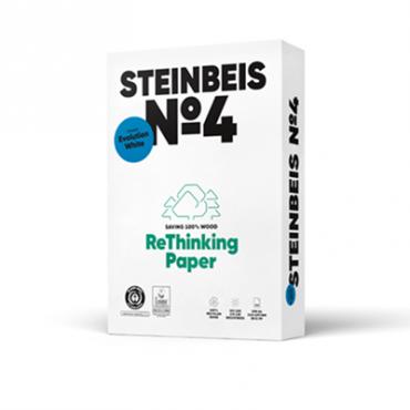 Steinbeis Evolution Recycling 100° Weiße, A4, 80g 100.000 Blatt