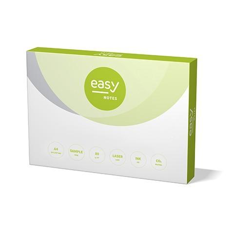 CO2 neutral EASY Notes 80g, A4, 100.000 Blatt, Officepapier für wirtschaftliche Einsätze, 80g