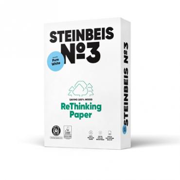 Steinbeis Vision Pure Recycling 90° Weiße, A4, 80g 100.000 Blatt