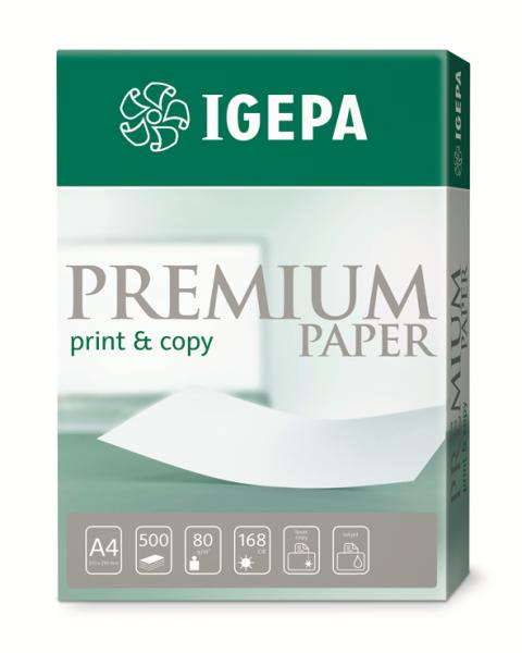 IGEPA PREMIUM A4, 80g DIN A Copy+Print
