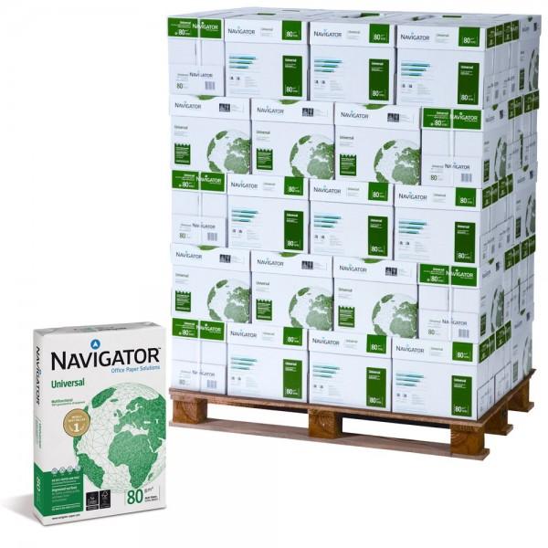 Premiumpapier Navigator Universal FSC A4, 100.000 Blatt