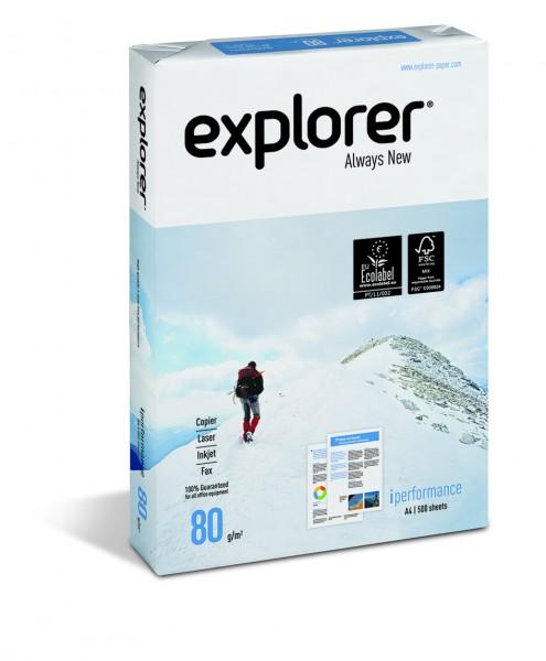 EXPLORER I Performance, Spitzenpapier, extremweiß, 80g, 100.000 Blatt