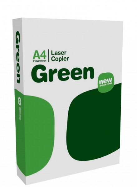 LASER GREEN Paper, A4, 80g 100.000 Blatt,